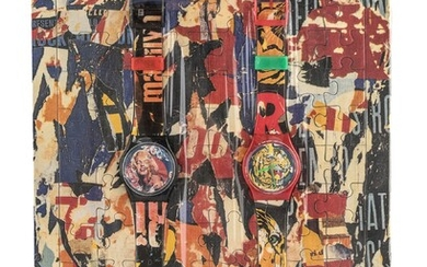 DUE OROLOGI SWATCH DESIGN MIMMO ROTELLA