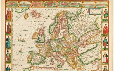 Europ, and the Cheife Cities Contained therein Described; with the Habits of Most Kingdoms Now in Use. By Jo: Speed. Ano: Dom: 1626.