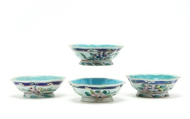 Four Chinese Porcelain Bowls