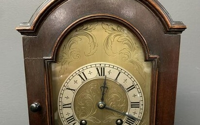George Iii Style Mahogany Cased Bracket Clock