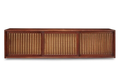"""George Nakashima (American, 1905-1990) A Special """"Hanging Wall Case"""",..."""