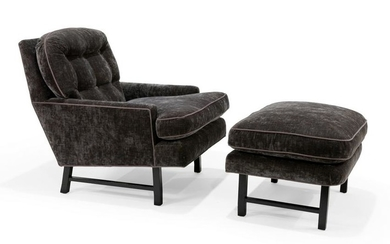 Harvey Probber - Lounge Chair and Ottoman