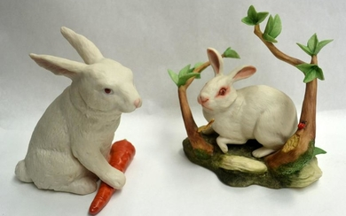 KAZMAR AND ISPANKY, HAND PAINTED PORCELAIN