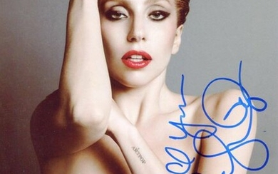 LADY GAGA: (1986- ) American Singer and Actress....