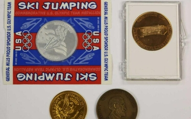 MISC. VINTAGE TOURIST COIN GROUPING