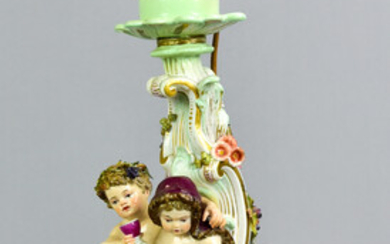 Meissen Candlestick converted to lamp
