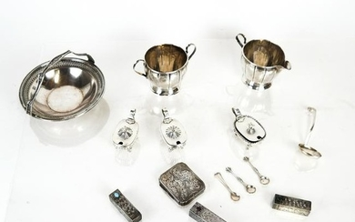 Mixed Lot of Sterling Silver Items