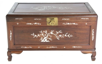 Mother of Pearl Inlaid Chest