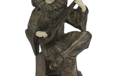 PIERROT SCULPTURE EARLY 20TH CENTURY