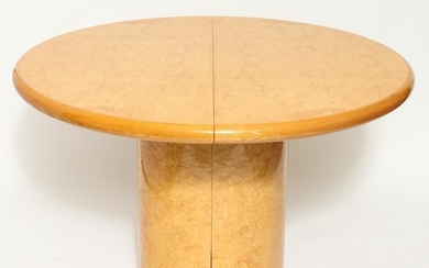 Pace Modern Burlwood Round Dining Table