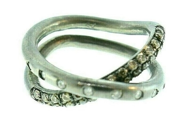 Spinelli Kilcollin Rhodium Plated 18k White Gold Pave