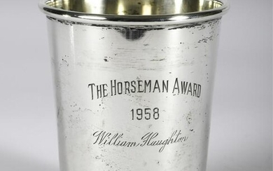 1958 THE HORSEMAN AWARD WILLIAM HAUGHTON