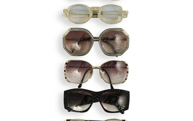(7 Pc) Vintage Designer Sunglasses