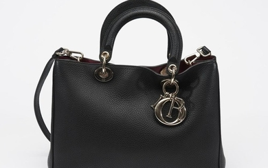 A LADY DIOR HANDBAG BY CHRISTIAN DIOR