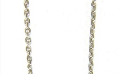 An 18ct white gold 'Heart of Cartier' necklace