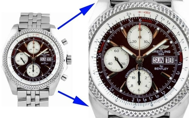 BREITLING BENTLEY SPECIAL EDITION BURGUNDY DIAL A13362