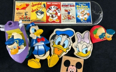 Lot of 7 Vintage Donald Duck Collectables