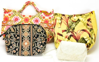 Lot of Ladies Handbags / Purses Incl Vera Bradley