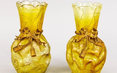 Pair of Art Nouveau vases, early of 20th...