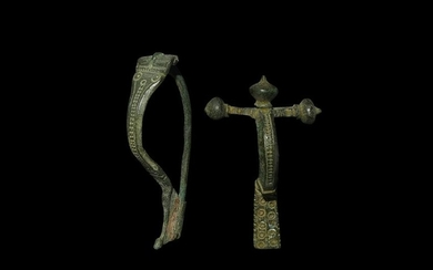 Roman Crossbow and Other Brooch Group