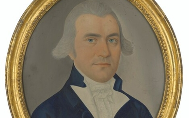 Spoilum (fl.c.1774-c.1805), Portrait of George Wilson, East India Company, bust length