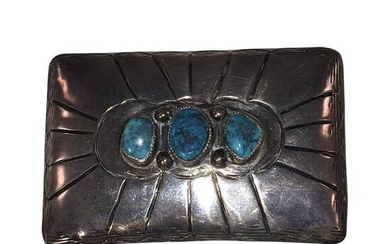 Sterling Silver Native American Navajo and Turquoise