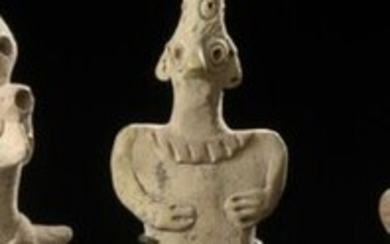 Stylised anthropomorphic idol Syro-Hittite