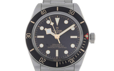 TUDOR - a gentleman's stainless steel Black Bay Fifty-Eight bracelet watch.