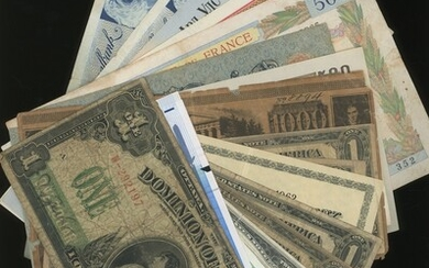 World Banknotes, group of 22 assorted