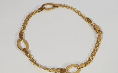18 kt. Yellow gold - Anklet