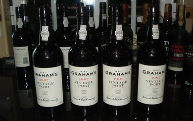 1997 GrahamsVintage Port - 4 Bottles (0.75L)