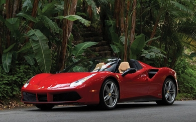 2017 Ferrari 488 Spider 70th Anniversary