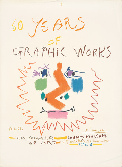 60 Years of Graphic Works. 1966.