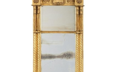 A Federal Giltwood Mirror Attributed to Samuel Mcintire