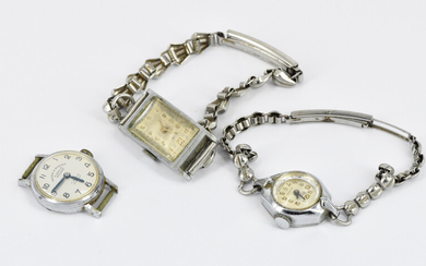 A GROUP OF VINTAGE WATCHES
