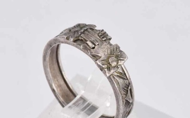 A LATE VICTORIAN NOVELTY RING