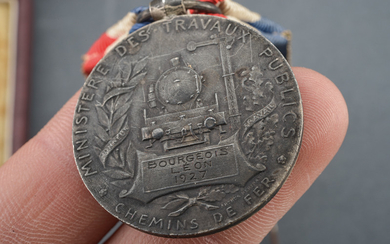 A LOT OF TWO MEDALS