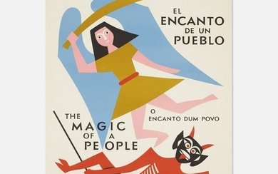Alexander Girard, The Magic of a People poster