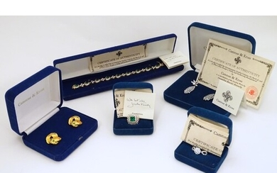 Assorted costume jewellery by Camrose & Kross to include exa...