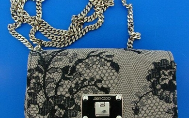 CHIC Jimmy Choo Mini Lace Bag with Dustbag