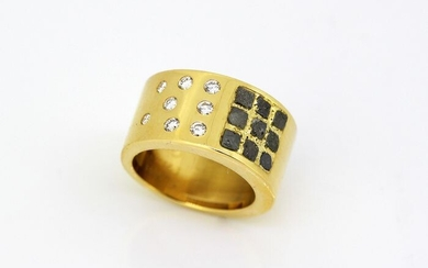 Cartier - 18 kt. Yellow gold - Ring - Diamonds, Rough Diamonds