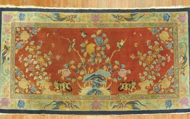Chinese Pictorial Rug