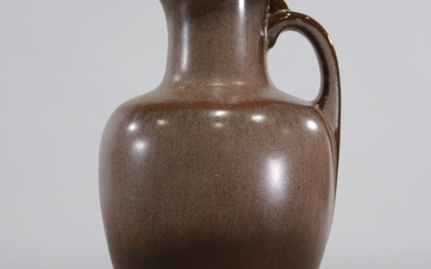FRANKOMA Mid-Century Pottery Serving Pitcher, Brown