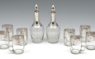 French Drinks Set, 10 Pc.