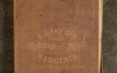 Lloyd's Official Map of the State of Virginia 186