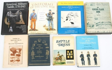 MILITARY COLLECTOR'S REFERENCE BOOK LOT OF 8