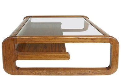 Mid-Century Modern Lou Hodges Coffee Table, California
