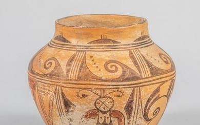 Native American Type Painted Pottery Jar, Hopi
