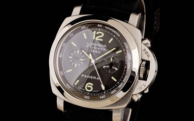 Panerai - Luminor Flyback 1950 Automatic Chronograph Limited Edition - OP 6697 - Men - 2000-2010