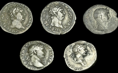 Roman Coins from Various Properties